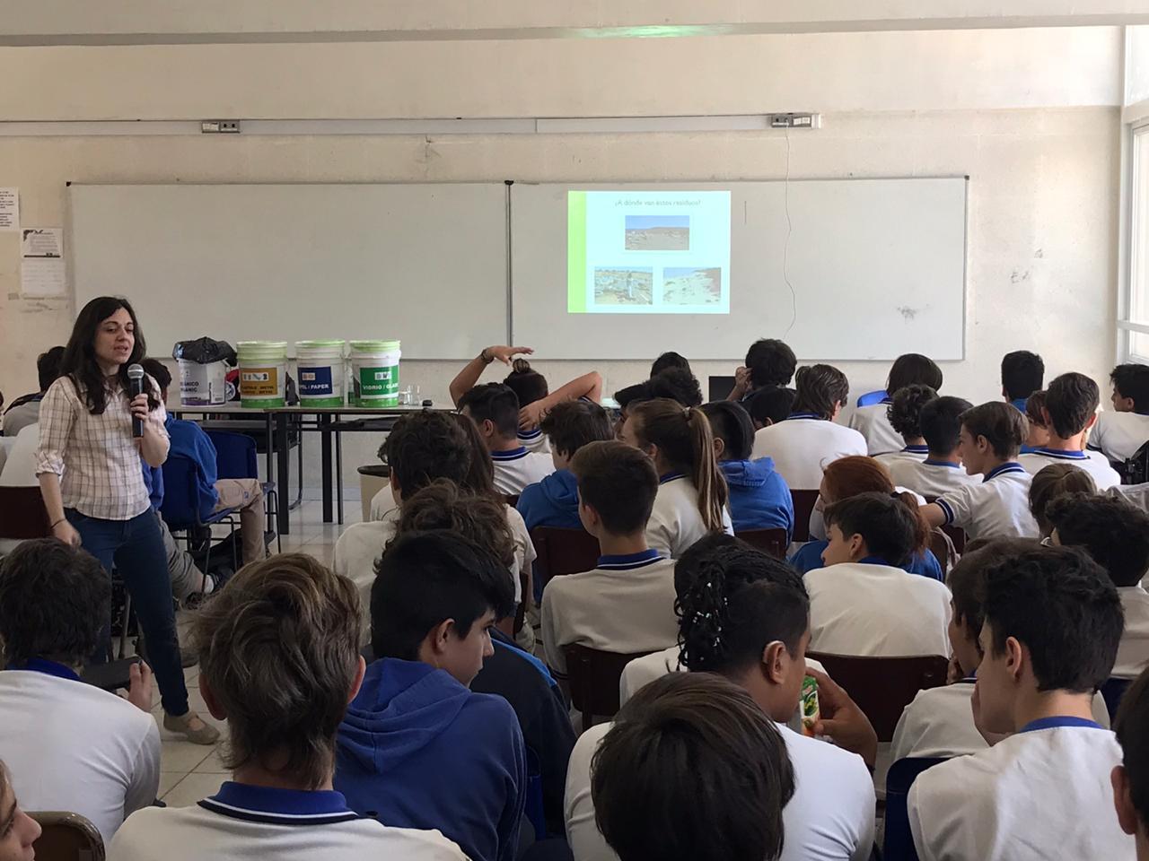 Jornada sobre Medio Ambiente en la ETec